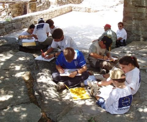 Psiloritis Summer 2004 Karstic EDU project (C. Fassoulas)