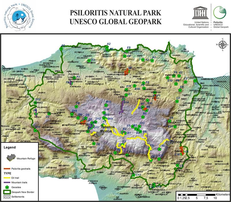 Psiloritis Natural Park - UNESCO Global Geopark